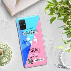 ETUI CLEAR NA TELEFON SAMSUNG GALAXY A71 5G BOARDING-CARD2020-1-102