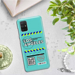 ETUI CLEAR NA TELEFON SAMSUNG GALAXY A71 5G BOARDING-CARD2020-1-103