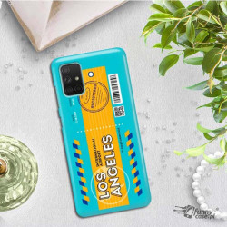 ETUI CLEAR NA TELEFON SAMSUNG GALAXY A71 5G BOARDING-CARD2020-1-104