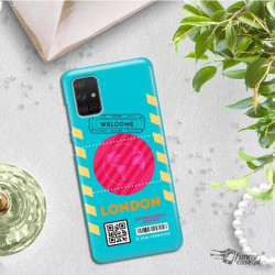 ETUI CLEAR NA TELEFON SAMSUNG GALAXY A71 5G BOARDING-CARD2020-1-106
