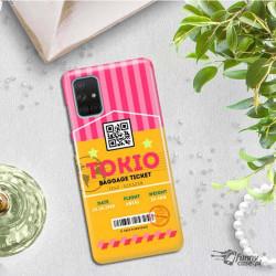 ETUI CLEAR NA TELEFON SAMSUNG GALAXY A71 5G BOARDING-CARD2020-1-107