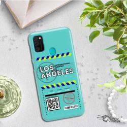 ETUI CLEAR NA TELEFON SAMSUNG GALAXY M21 BOARDING-CARD2020-1-103