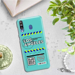 ETUI CLEAR NA TELEFON SAMSUNG GALAXY M30 BOARDING-CARD2020-1-103