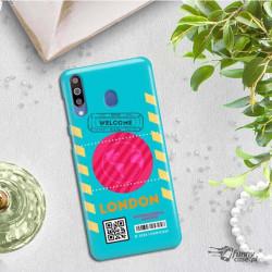 ETUI CLEAR NA TELEFON SAMSUNG GALAXY M30 BOARDING-CARD2020-1-106