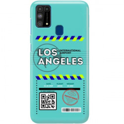 ETUI CLEAR NA TELEFON SAMSUNG GALAXY M31 BOARDING-CARD2020-1-103
