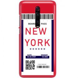 ETUI CLEAR NA TELEFON XIAOMI K20 / MI 9T BOARDING-CARD2020-1-100