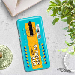 ETUI CLEAR NA TELEFON XIAOMI K20 / MI 9T BOARDING-CARD2020-1-104