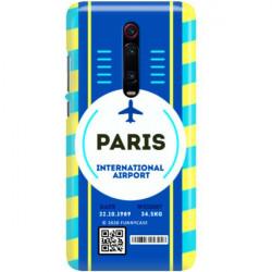ETUI CLEAR NA TELEFON XIAOMI K20 / MI 9T BOARDING-CARD2020-1-105