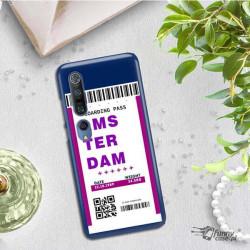 ETUI CLEAR NA TELEFON XIAOMI MI 10 BOARDING-CARD2020-1-101