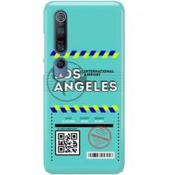 ETUI CLEAR NA TELEFON XIAOMI MI 10 BOARDING-CARD2020-1-103