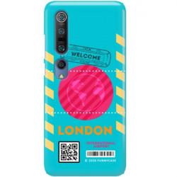 ETUI CLEAR NA TELEFON XIAOMI MI 10 BOARDING-CARD2020-1-106