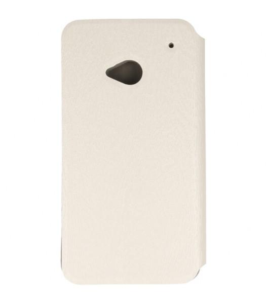 ETUI FLIP BOOK HTC ONE M7 801E 801N 801C 801S BIAŁY