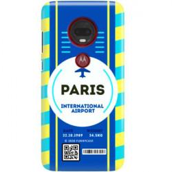 ETUI CLEAR NA TELEFON MOTOROLA MOTO G7 PLAY BOARDING-CARD2020-1-105