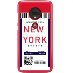 ETUI CLEAR NA TELEFON MOTOROLA MOTO G7 PLUS BOARDING-CARD2020-1-100