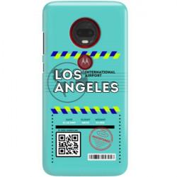 ETUI CLEAR NA TELEFON MOTOROLA MOTO G7 PLUS BOARDING-CARD2020-1-103