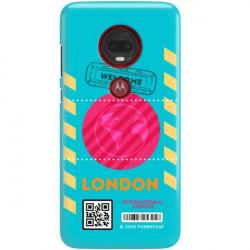ETUI CLEAR NA TELEFON MOTOROLA MOTO G7 PLUS BOARDING-CARD2020-1-106