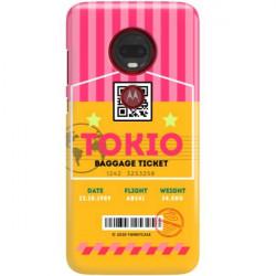 ETUI CLEAR NA TELEFON MOTOROLA MOTO G7 PLUS BOARDING-CARD2020-1-107