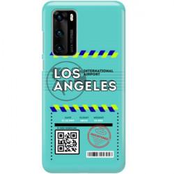 ETUI CLEAR NA TELEFON HUAWEI P40 BOARDING-CARD2020-1-103