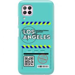 ETUI CLEAR NA TELEFON HUAWEI P40 LITE E BOARDING-CARD2020-1-103