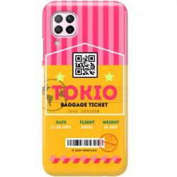 ETUI CLEAR NA TELEFON HUAWEI P40 LITE E BOARDING-CARD2020-1-107