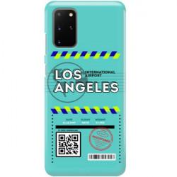 ETUI CLEAR NA TELEFON SAMSUNG GALAXY S20 PLUS BOARDING-CARD2020-1-103