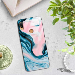 BLACK CASE GLASS NA TELEFON HUAWEI Y6 PRIME 2019 ST_NMR2020-1-102