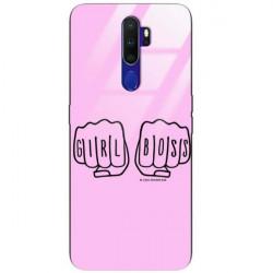 BLACK CASE GLASS NA TELEFON OPPO A9 2020 ST_FEM2020-1-103