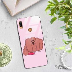 BLACK CASE GLASS NA TELEFON HUAWEI Y6 PRIME 2019 ST_FEM2020-1-104
