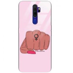BLACK CASE GLASS NA TELEFON OPPO A9 2020 ST_FEM2020-1-104