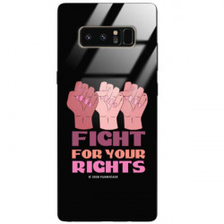 BLACK CASE GLASS NA TELEFON SAMSUNG GALAXY NOTE 8 ST_FEM2020-1-106
