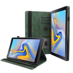 ETUI LETHER TABLET NA SAMSUNG TAB A 10.5 2018 / T590 ZIELONY