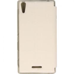 FLIP S-CASE ETUI NA TELEFON SONY XPERIA T3 D5103 BIAŁY