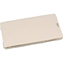 FLIP S-CASE ETUI NA TELEFON SONY XPERIA Z1 L39H C6903 C6943 BIAŁY