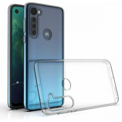 ETUI CLEAR NA TELEFON MOTOROLA MOTO G8 POWER TRANSPARENT