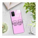 BLACK CASE GLASS NA TELEFON SAMSUNG GALAXY A71 ST_FEM2020-1-103
