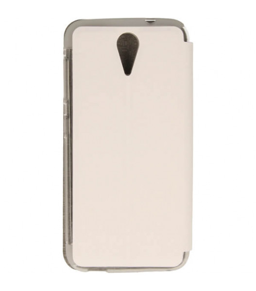 ETUI FLIP S-CASE HTC DESIRE 620 BIAŁY