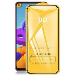 SZKLO HARTOWANE BLACK IRON GLASS 9D NA TELEFON XIAOMI XIAOMI REDMI NOTE 9S / 9 PRO / 9 PRO MAX