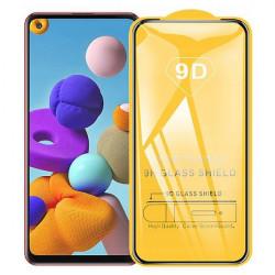 SZKLO HARTOWANE BLACK IRON GLASS 9D NA TELEFON SAMSUNG GALAXY A21S