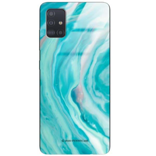BLACK CASE GLASS NA TELEFON SAMSUNG GALAXY A51 ST_NMR2020-1-103