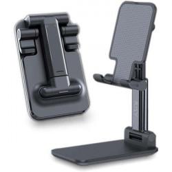 UCHWYT BIUROWY STAND PODSTAWAKA STOJAK REGULOWANY NA TELEFON CZARNY