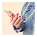 ETUI CROSSBODY NA TELEFON XIAOMI REDMI NOTE 8 PRO ŻÓŁTY