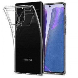 ETUI PROTECT CASE 2mm NA TELEFON SAMSUNG GALAXY NOTE 20 TRANSPARENT