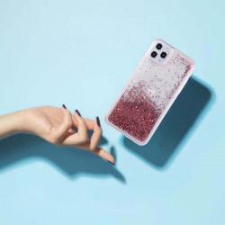 ETUI LIQUID PEARL NA TELEFON HUAWEI Y7 2019 ROSE GOLD