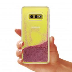 ETUI LIQUID PEARL NA TELEFON SAMSUNG GALAXY S10E ROSE GOLD