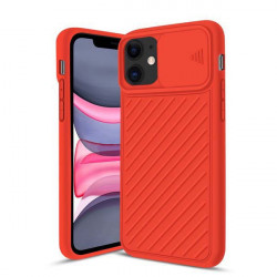 ETUI CAMERA PROTECTION NA TELEFON IPHONE IPHONE XR CZERWONY