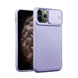 ETUI CAMERA PROTECTION NA TELEFON IPHONE IPHONE X / XS FIOLETOWY