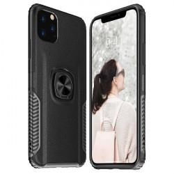 ETUI RING NA TELEFON HUAWEI P SMART 2019 CZARNY