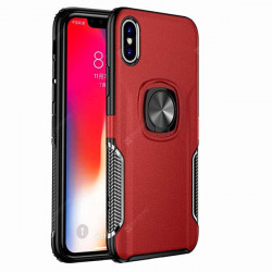 ETUI RING NA TELEFON APPLE IPHONE 11 CZERWONY