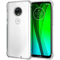 ETUI ANTI-SHOCK NA TELEFON MOTOROLA MOTO G7 POWER TRANSPARENT