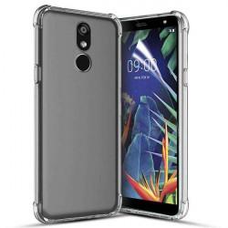 ETUI ANTI-SHOCK NA TELEFON LG K40 TRANSPARENT